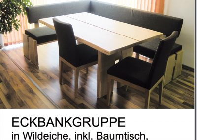 Eckbankgruppe